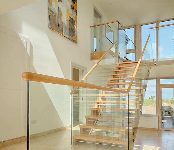 Glass balustrade Design