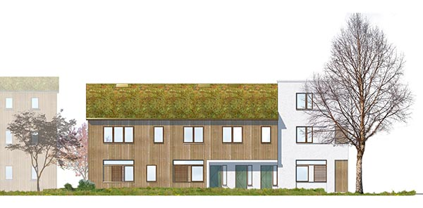 Green Roof Building