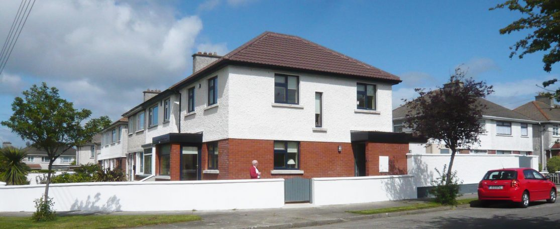 Infill House in Garden Dublin