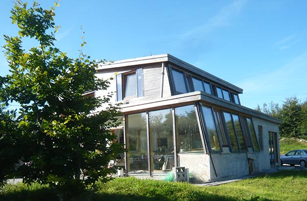 Passive Glazing Eco House