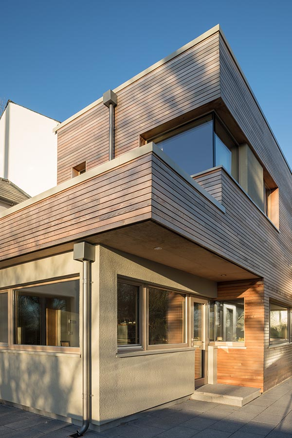 Timber Cladding Eco House