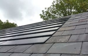 Integrated PV roof