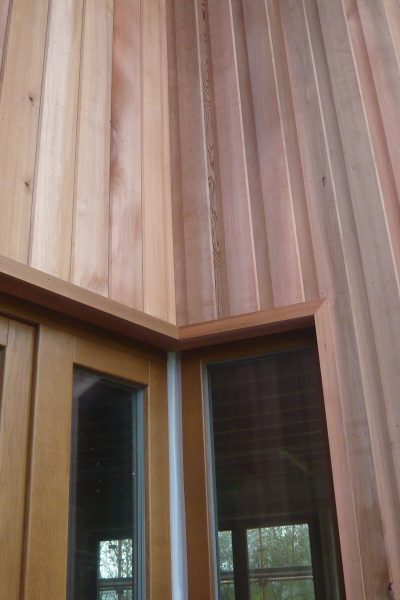 Timber Cladding house Architect Clare