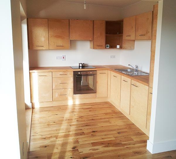 Birch Plywood Kitchen Eco