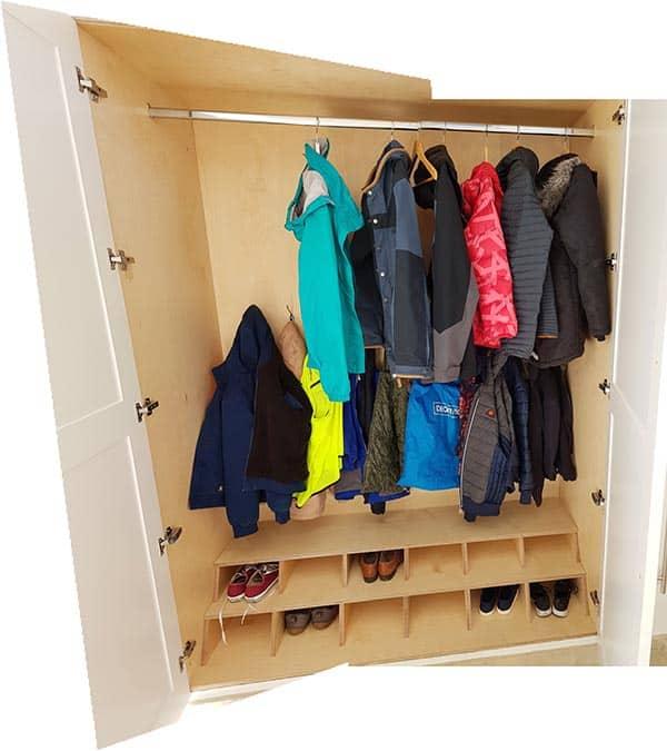 Cloak cupboard