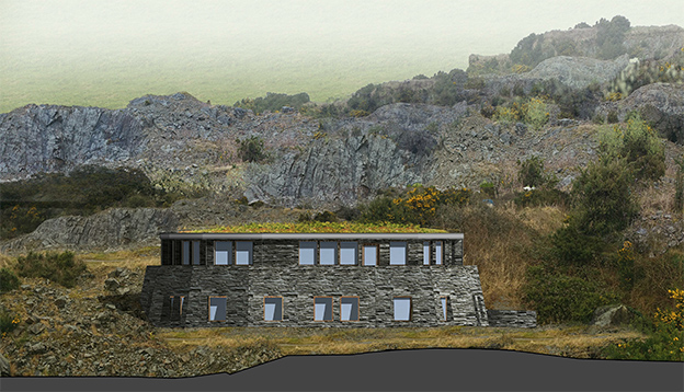 Eco House Planning architect Scarriff