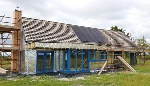 House with built in PV